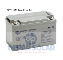 Victron Akü 12V 110Ah Jel- Deep Cycle